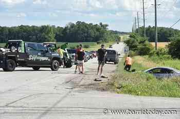 Collision on Sideroad 20 in Innisfil sends two people to hospital - BarrieToday