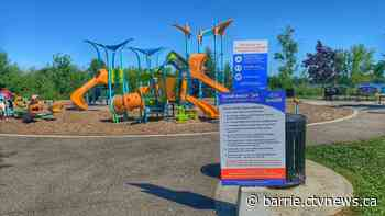 Several playgrounds now open in Innisfil - CTV News
