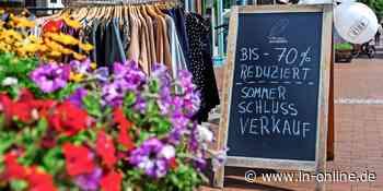 So läuft der Sommerschlussverkauf in Bad Segeberg – LN - Lübecker Nachrichten