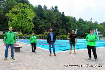 Im Freibad und im Seepark in Pfullendorf ist alles bereit für das Baden ... | SÜDKURIER Online - SÜDKURIER Online