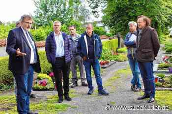 Neue Grab- und Urnenfelder sollen entstehen: Ausschuss bespricht Pläne für ... | SÜDKURIER Online - SÜDKURIER Online