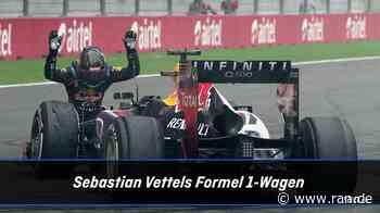 Motorsport - Sebastian Vettel: Seine Formel-1-Autos im Wandel der Zeit - RAN