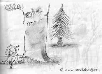 Le dessin a eu bonne mine à Hasparren - mediabask.eus