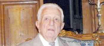 Paul Morin, ancien maire de Bourg-en-Bresse, est décédé - La Voix de l'Ain
