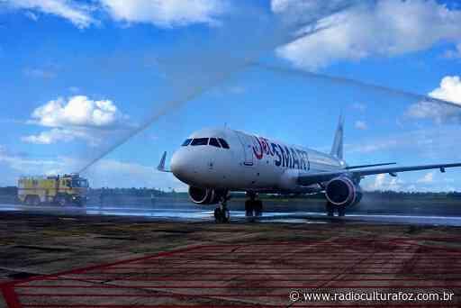 JetSmart retoma voos entre Foz e Santiago no Chile com preços de R$ 144,85 - Rádio Cultura Foz