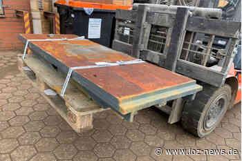 Geesthacht: Acht Tonnen Metall gestohlen - Polizei sucht Zeugen - LOZ-News   Die Onlinezeitung für das Herzogtum Lauenburg
