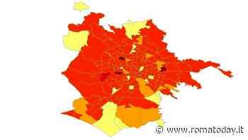 Roma, la mappa del contagio di luglio: i quartieri dove ci sono stati più i casi