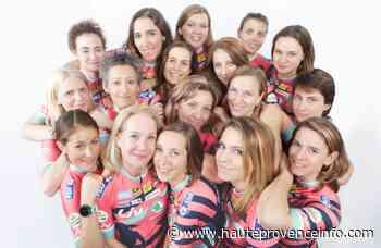 Les cyclistes féminines de Donnons des Elles au Vélo à Sisteron - Haute-Provence Info