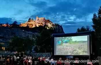 Projection d'un film datant de 1943 sur Sisteron et Paul Arène avec les Ecrans du Lac - Haute-Provence Info