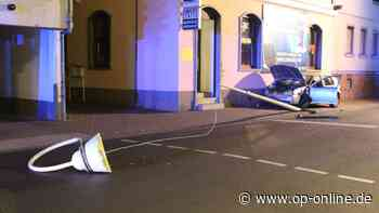 Chaos-Fahrt in Maintal: Die Fotostrecke - Spur der Verwüstung - op-online.de