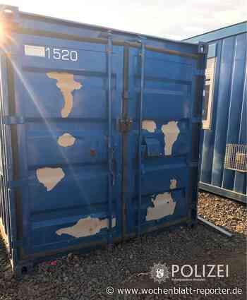 Diebstahl schwerer Arbeitsmaschinen in Queidersbach: Polizei sucht Zeugen - Wochenblatt-Reporter