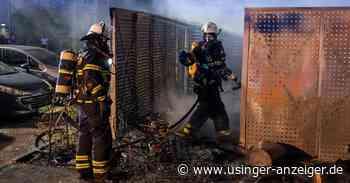 Bad Homburg: Brennender Sperrmüll sorgt für größere Evakuierungsaktion - Usinger Anzeiger