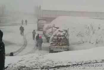 +VIDEO  Miren la espectacular nevada que vistió de blanco a Mérida - evtvmiami.com