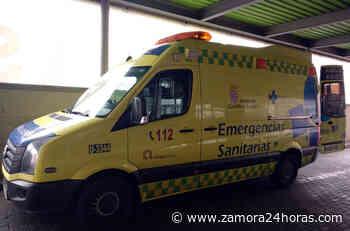 Atendida una persona tras la colisión de dos vehículos a la entrada de Zamora - Zamora 24 Horas