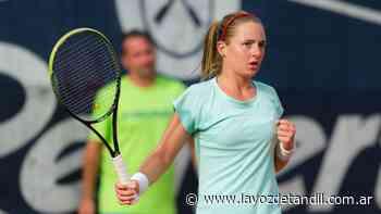 Nadia Podoroska debutará mañana en la clasificación del WTA de Palermo - La Voz de Tandil
