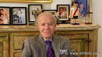 Internaron a Carlos Menem en un sanatorio de Palermo - ámbito.com