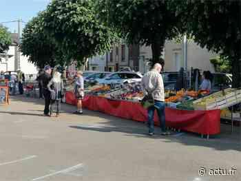 Marchés à Sablé-sur-Sarthe : le port du masque obligatoire - actu.fr