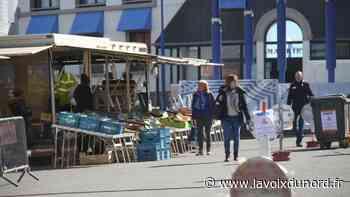 À Desvres, le port du masque est désormais obligatoire sur le marché - La Voix du Nord