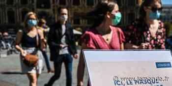 A Lille, le préfet rend le port du masque obligatoire dans certaines rues et espaces verts - Le Monde