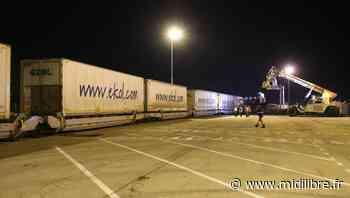La ligne de fret ferroviaire entre le port de Sète et Calais est relancée - Midi Libre