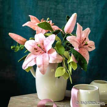 Felt Lilies & Buds