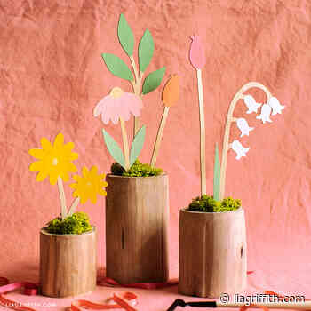 Wooden Flower Stems