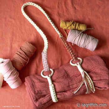 Macrame Blanket Strap