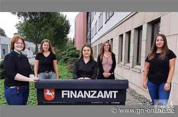 Ausbildungsende: Nachwuchskräfte im Finanzamt Bad Bentheim - Grafschafter Nachrichten