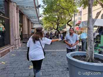 Inicia entrega masiva de cubrebocas en Guadalajara - UDG TV