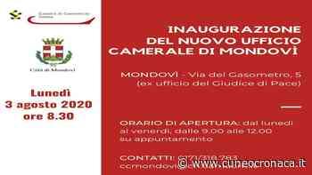 MONDOVI'/ Lunedì mattino l'inaugurazione del nuovo ufficio Camerale in via Gasometro - Cuneocronaca.it