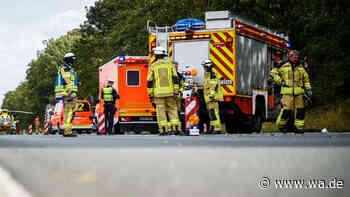 A2 zwischen Vlotho-West und Kreuz Bad Oeynhausen: Unfall mit Gefahrguttransporter - wa.de