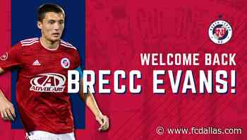 North Texas SC Recalls Defender Brecc Evans from Loan with Austin Bold FC - FC Dallas