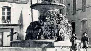 L'eau coule de nouveau de la fontaine du Griffe - Midi Libre