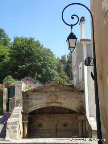 Visite de la fontaine des 4 Tias LA FONTAINE DES QUATRE TIAS samedi 19 septembre 2020 - Unidivers