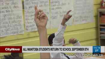 Manitoba Back to School set for September 8th - CityNews Winnipeg
