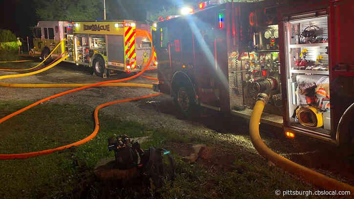 Crews Battle Overnight House Fire In West Mifflin