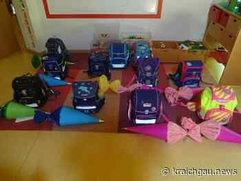 Schulanfänger-Abschlussvormittag im Kindergarten St. Mauritius Neibsheim - kraichgau.news