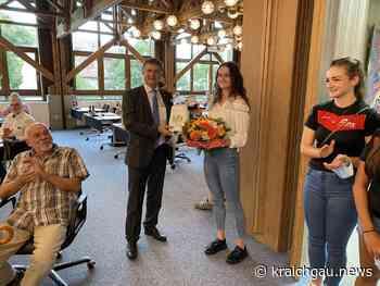 Mannschaft und Sportlerin des Jahres 2019 der Stadt Bretten: Volleyballerinen und Leichtathletik-Ass für ihre Leistungen geehrt - Bretten - kraichgau.news
