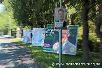 CDU und FDP plakatieren Werne zu - Was sagen die anderen Parteien? - Halterner Zeitung