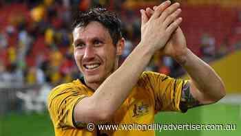 Former Socceroos captain Mark Milligan joins Macarthur FC - Wollondilly Advertiser