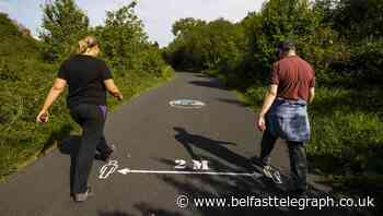 Comber Greenway usage up amid calls for an upgrade - Belfast Telegraph