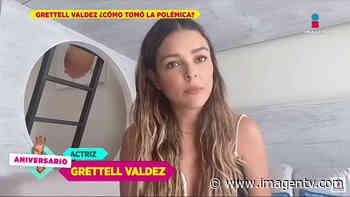 ¡Grettell Valdez rompe el silencio por escándalo! Imagen Televisión - Imagen Televisión
