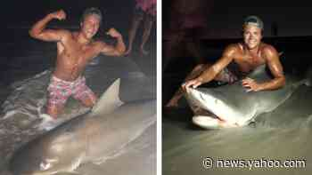 Man catches bull shark on Long Island; Officials talk 'Shark Patrols'