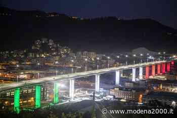 67 mila metri cubi di calcestruzzo per il Ponte di Genova - Modena 2000