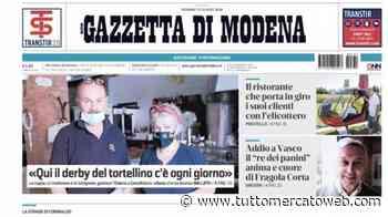 """Gazzetta di Modena: """"Sassuolo, il mito Del Piero invita a cena bomber Caputo"""" - TUTTO mercato WEB"""