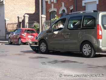 Un accident en centre-ville de Ham - Courrier Picard