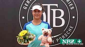 Mina Hodzic holt Turniersieg bei DTB-Serie in Versmold - NRZ
