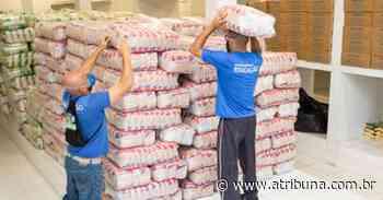 Praia Grande doa quase 80 mil kits de alimentação escolar - A Tribuna