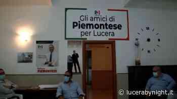 Piemontese a Lucera per riorganizzare il PD e portare Abate alla candidatura a Sindaco - lucerabynight.it