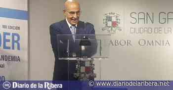 Luis Abril recibe el Premio Prensa y Poder de San Gabriel - Diario de la Ribera